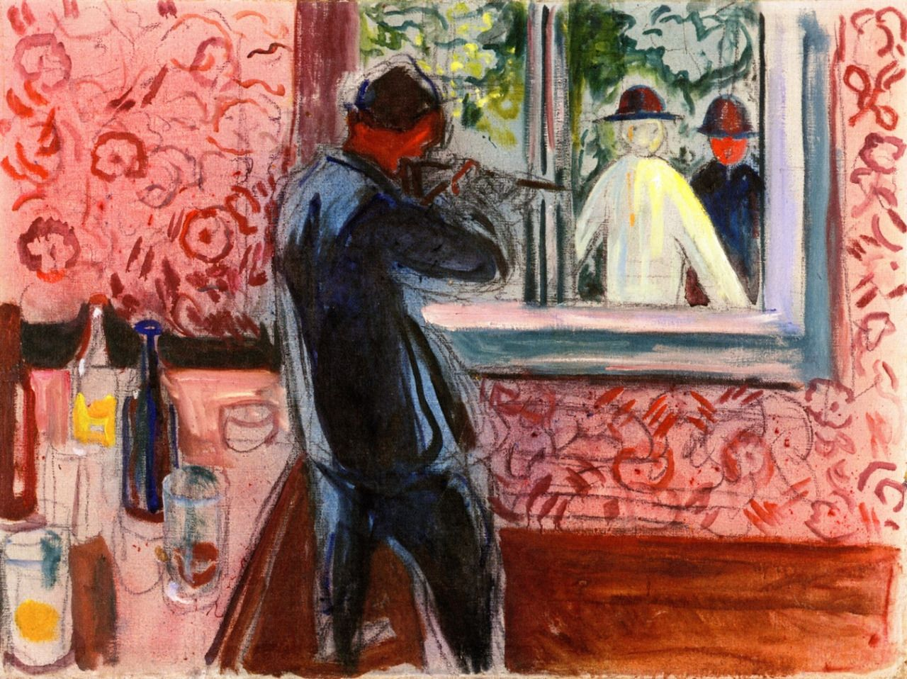 Edvard Munch, Uninvited Guests